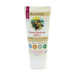 photo: Badger Active Broad Spectrum SPF 15 Sunscreen sunscreen
