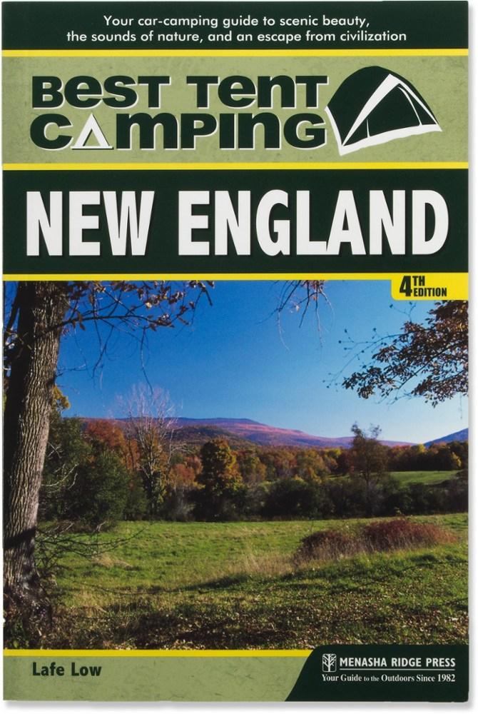 Menasha Ridge Press The Best in Tent Camping: New England