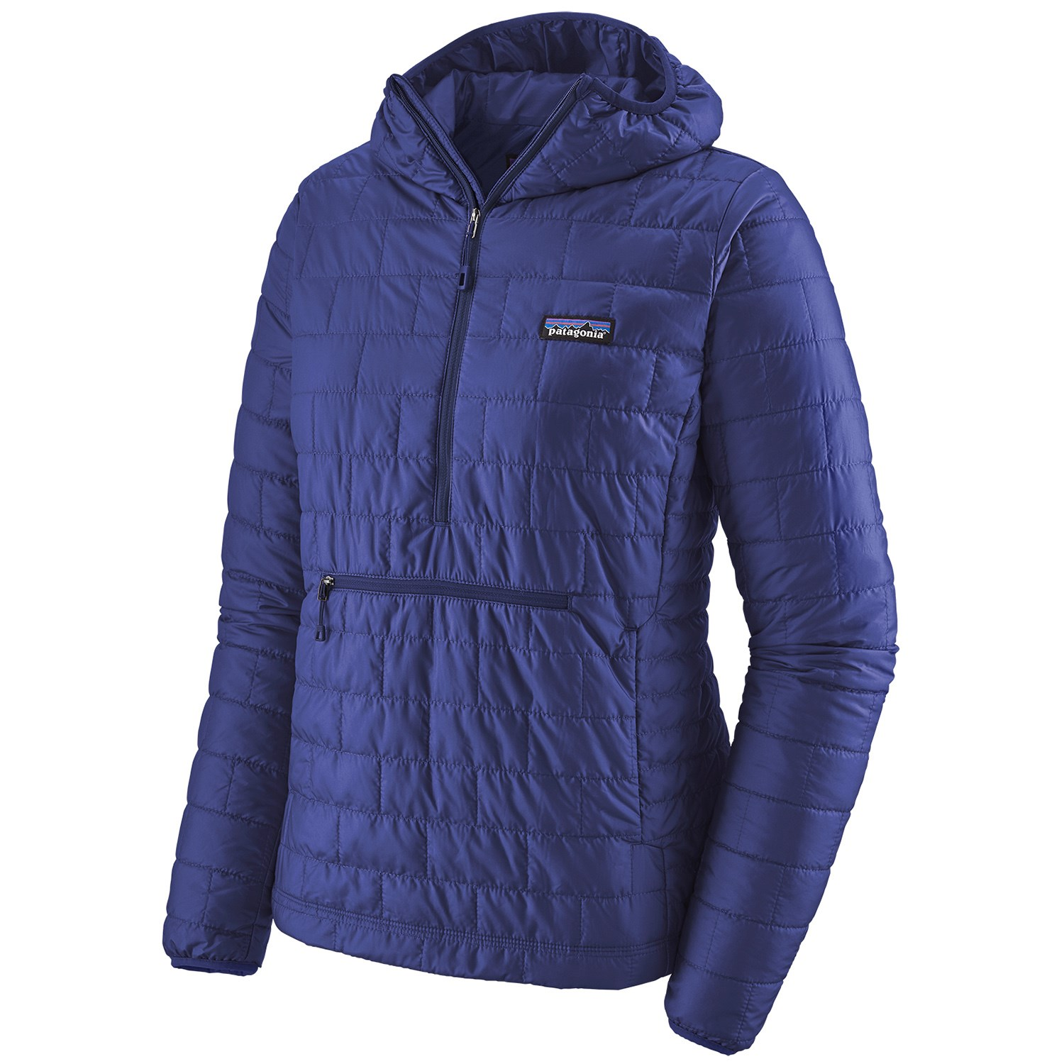 photo: Patagonia Women's Nano Puff Bivy Pullover synthetic insulated jacket