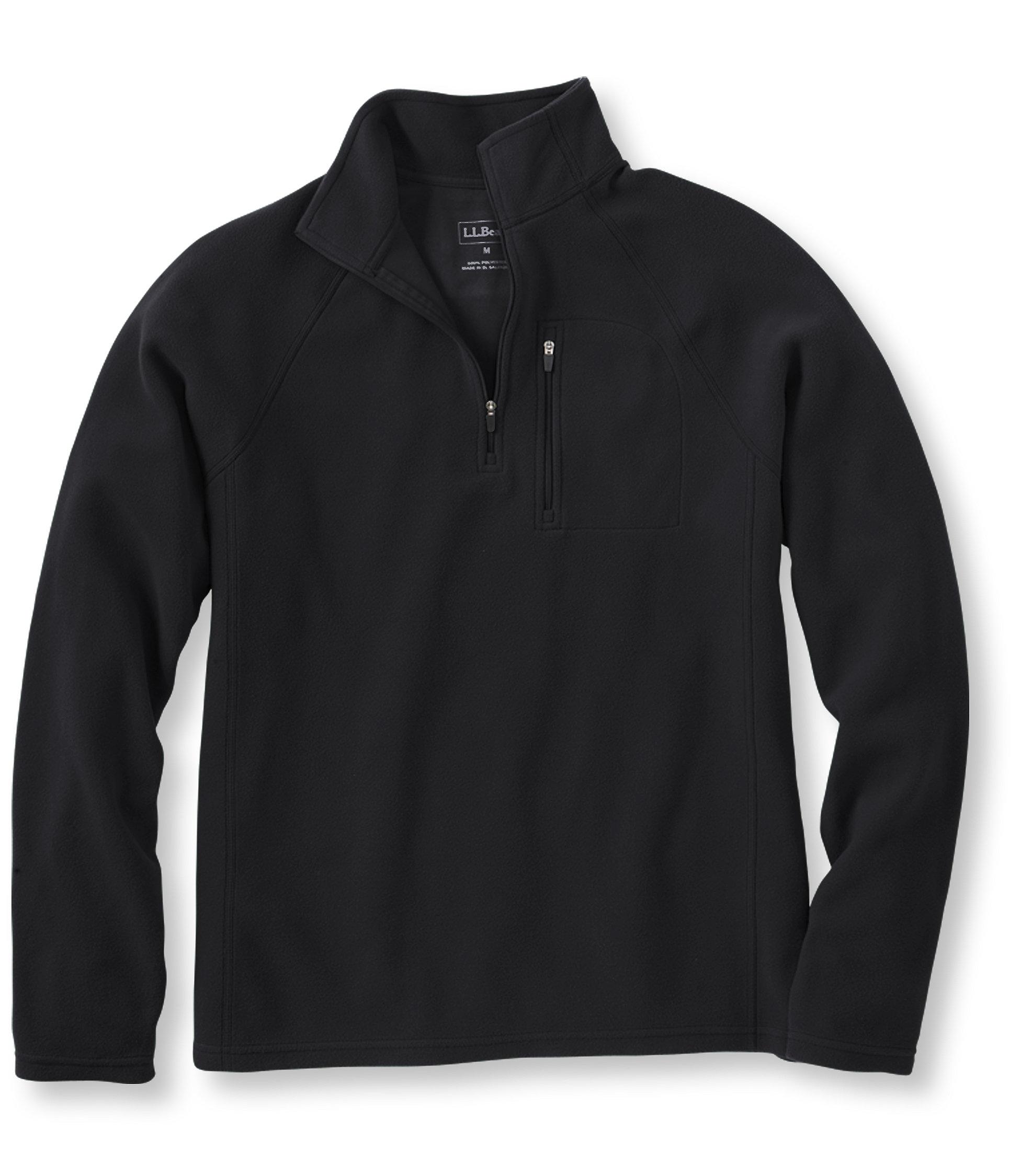 L.L.Bean Fitness Fleece, Quarter-Zip Pullover Tall