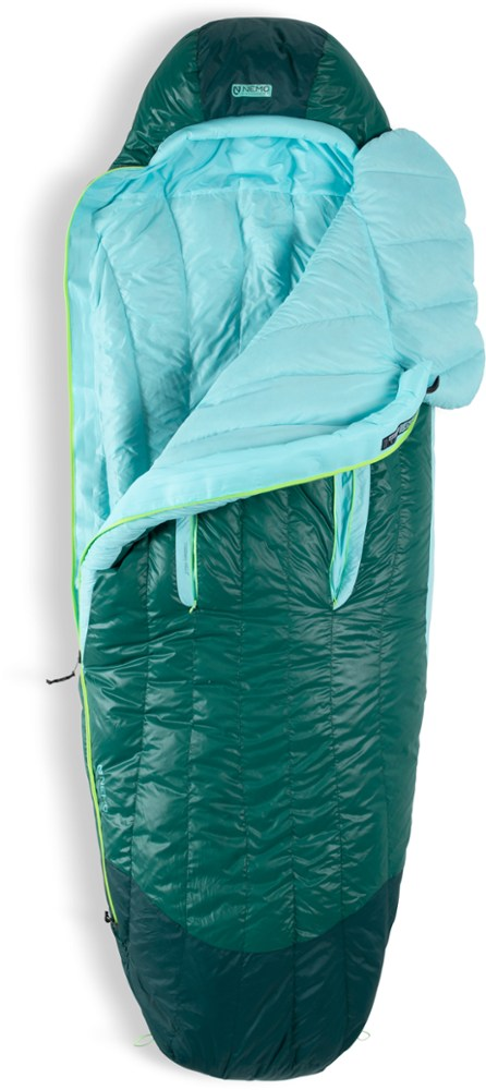 photo: NEMO Women's Disco 30 3-season down sleeping bag