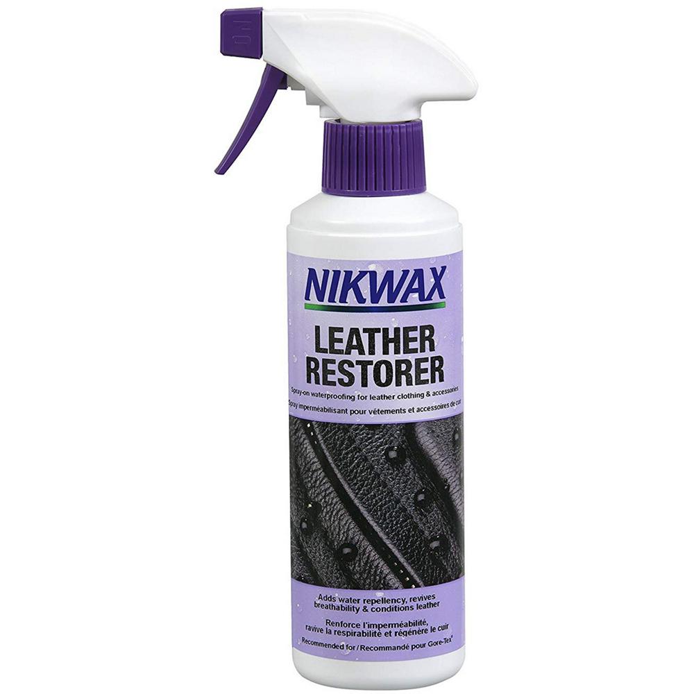 photo: Nikwax Leather Restorer footwear cleaner/treatment