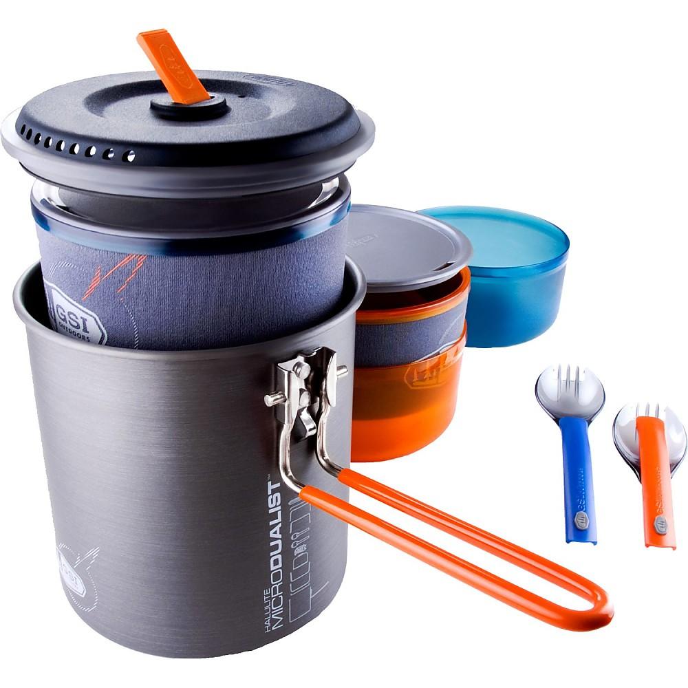 photo: GSI Outdoors Halulite Microdualist Cookset pot/pan