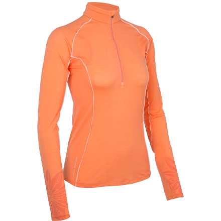 Icebreaker Flash Long Sleeve Half Zip