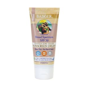 photo: Badger Tinted Broad Spectrum SPF 30 Sunscreen sunscreen