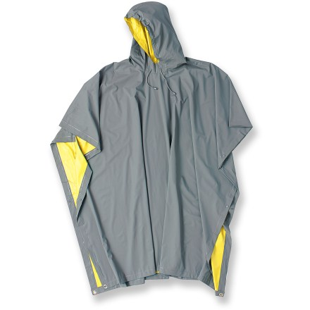 photo: Red Ledge Heavy Duty Reversible PVC Poncho waterproof jacket