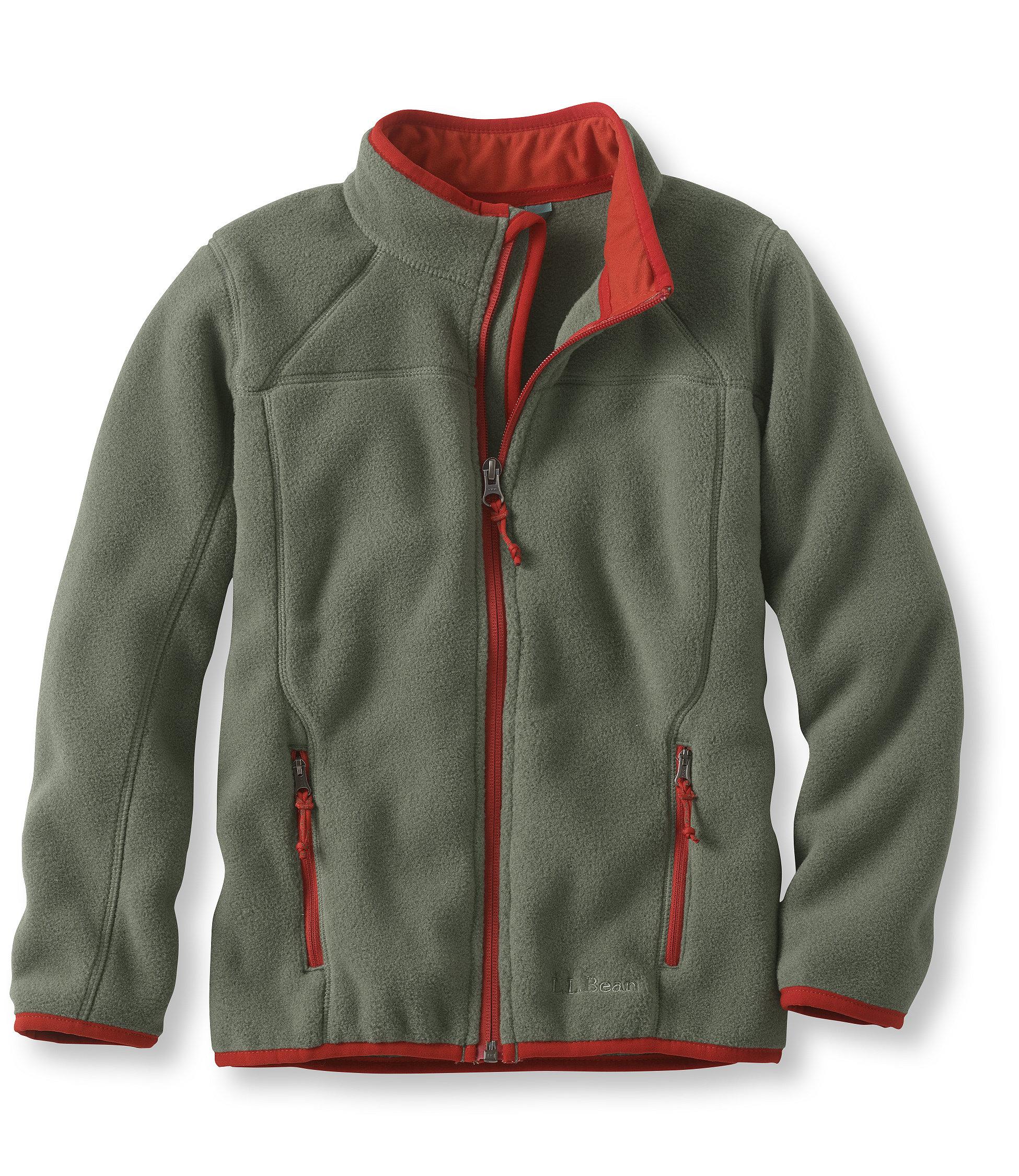 photo: L.L.Bean Kids' Trail Model Fleece Jacket fleece jacket
