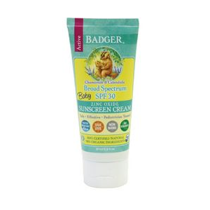 photo: Badger Active Broad Spectrum SPF 30 Baby Sunscreen sunscreen