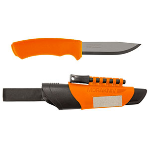 photo: Morakniv Bushcraft Survival fixed-blade knife