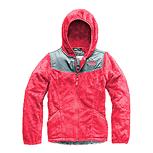 photo: The North Face Girls' Oso Hoodie fleece jacket