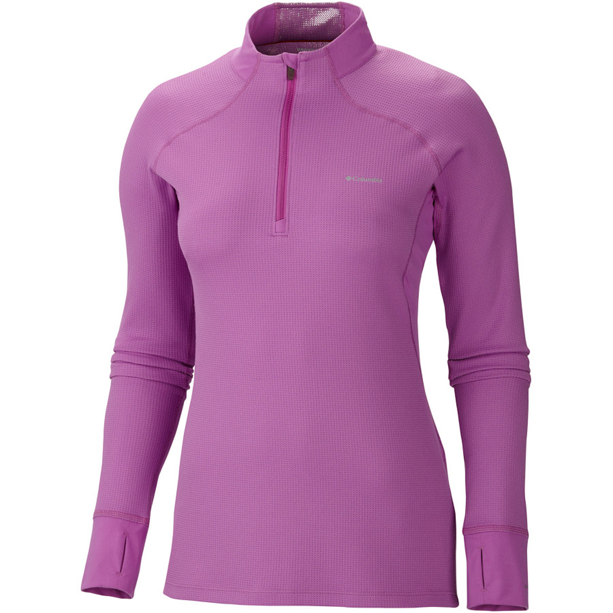 photo: Columbia Women's Baselayer Heavyweight Long Sleeve 1/2 Zip base layer top
