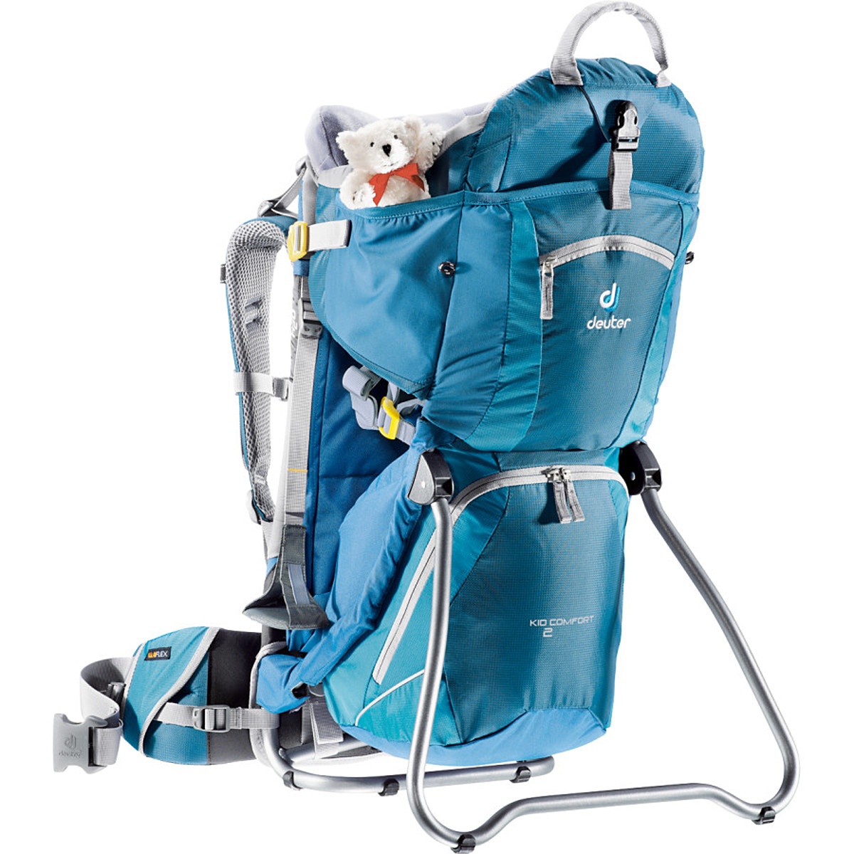 photo: Deuter Kid Comfort II child carrier