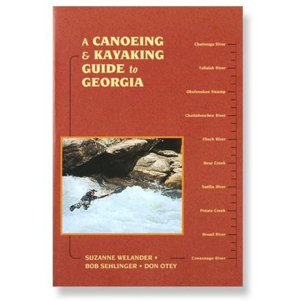 Menasha Ridge Press A Canoeing and Kayaking Guide to Georgia
