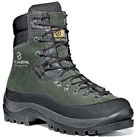 photo: Scarpa Liskamm GTX mountaineering boot