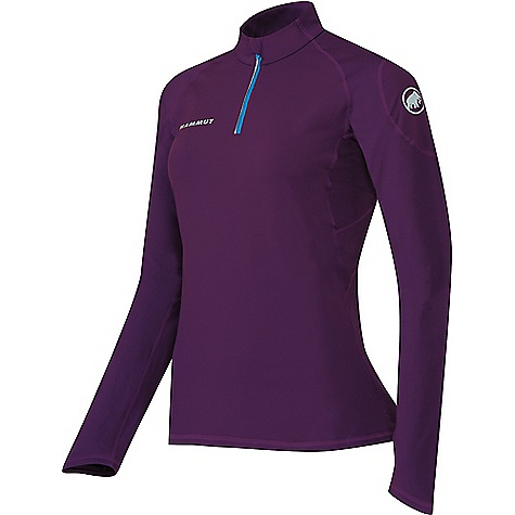 photo: Mammut Women's MTR 141 Thermo Longsleeve Zip long sleeve performance top