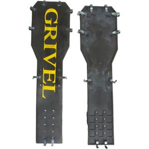 Grivel Rambo Antiballing Plate