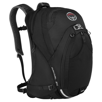 photo: Osprey Radial 34 daypack (under 2,000 cu in)