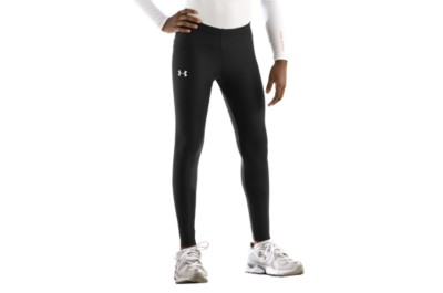 photo: Under Armour Girls' HeatGear Legging base layer bottom