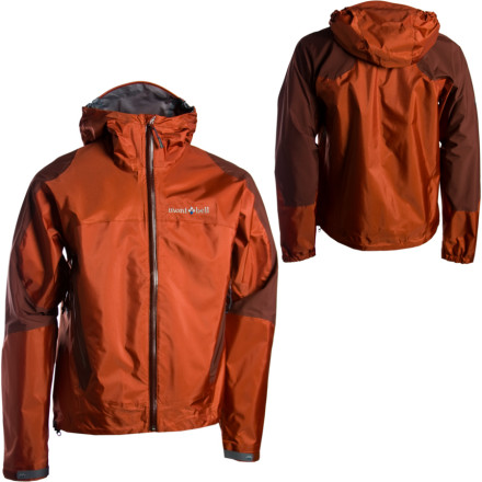 photo: MontBell Thunderhead Jacket waterproof jacket