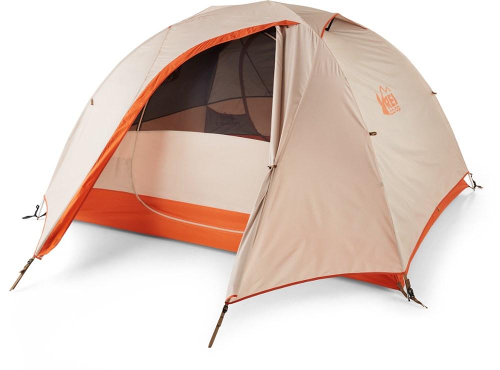 photo: REI Passage 3 Tent three-season tent