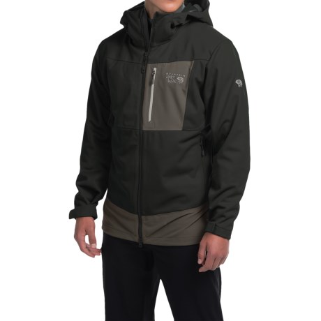 photo: Mountain Hardwear Dragon Hooded Jacket soft shell jacket