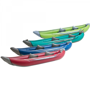 photo: Tributary Tomcat Tandem inflatable kayak