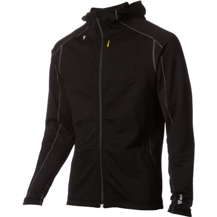 photo: Stoic Merino Comp 300 Full-Zip Hoodie long sleeve performance top