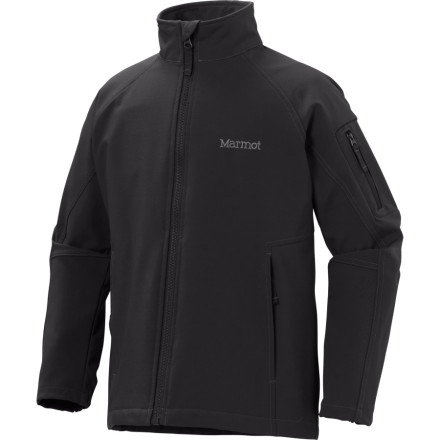 photo: Marmot Boys' Approach Jacket soft shell jacket