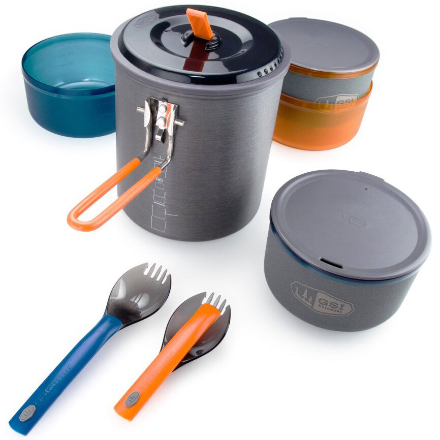 GSI Outdoors Halulite Microdualist Cookset