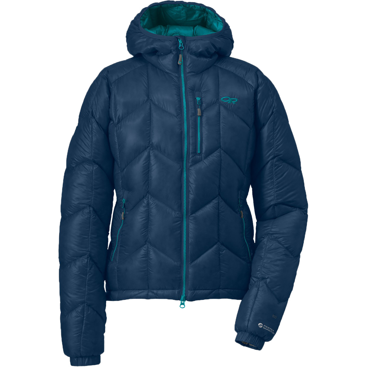 photo: Outdoor Research Women's Incandescent Hoody down insulated jacket