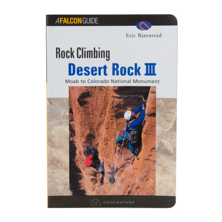 photo: Falcon Guides Desert Rock III us mountain states guidebook