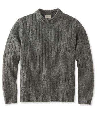 L.L.Bean Classic Ragg Wool Sweater, Crewneck