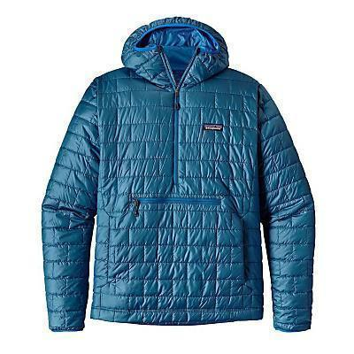 photo: Patagonia Nano Puff Bivy Pullover synthetic insulated jacket