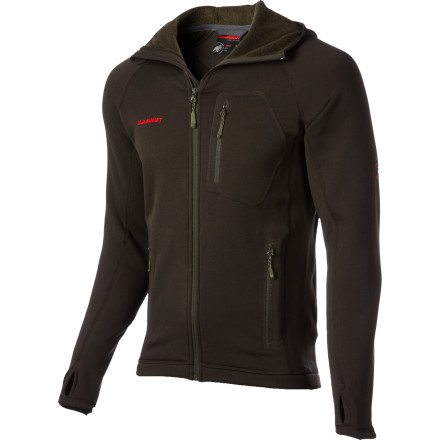 photo: Mammut Women's Aconcagua Hoody fleece jacket