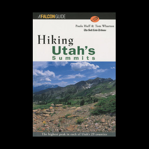 photo: Falcon Guides Hiking Utah's Summits us mountain states guidebook