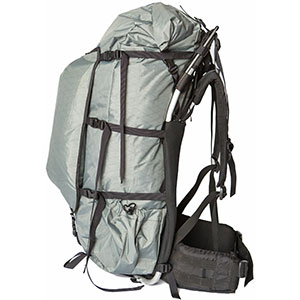 photo: Seek Outside Paradox Evolution 4800 external frame backpack