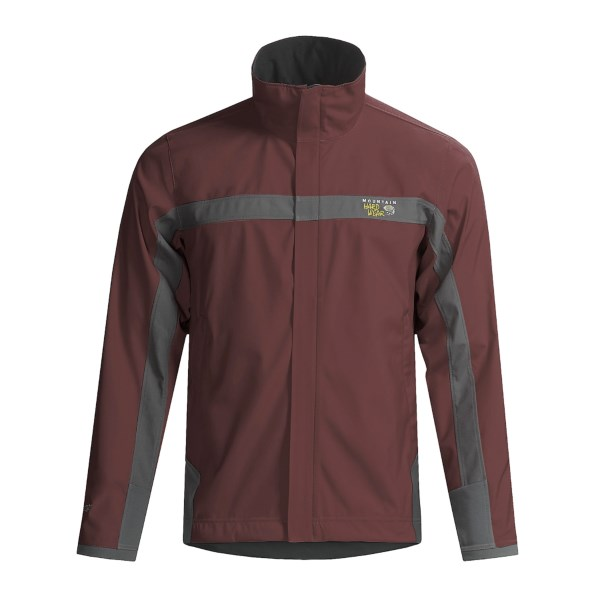 photo: Mountain Hardwear Men's Tempo Windstopper Jacket soft shell jacket