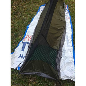 photo of a Borah Gear bivy sack