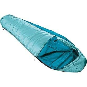 photo: VauDe Snow Cloud 350 43F warm weather synthetic sleeping bag