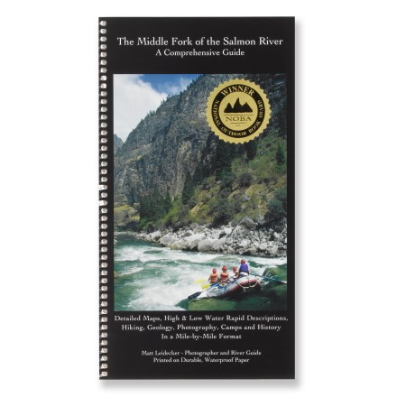 photo of a Idaho River Publications us mountain states guidebook