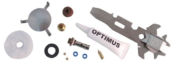 photo: Optimus Hiker+ Extensive Repair Kit stove maintenance kit