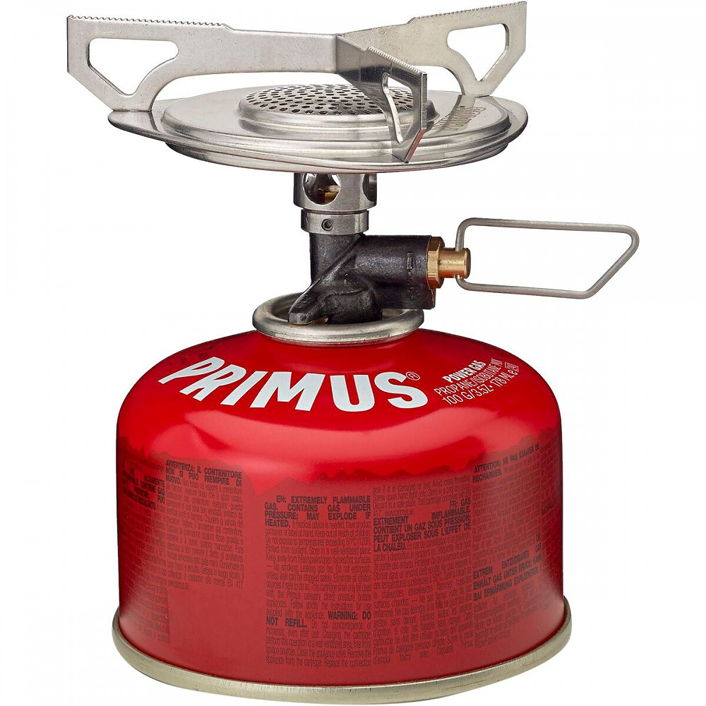 photo: Primus Essential Trail Stove compressed fuel canister stove