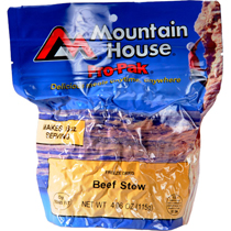 photo: Mountain House Beef Stew Pro-Pak meat entrée