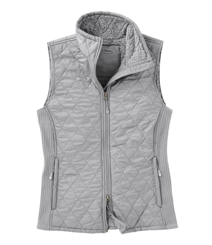 photo: L.L.Bean Fleece-Lined Fitness Vest fleece vest