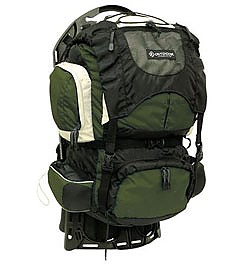 photo: Outdoor Products Firefly external frame backpack
