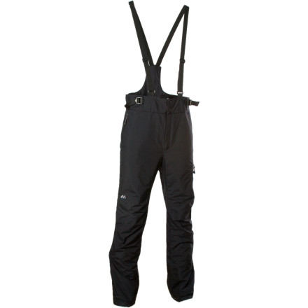 photo: MontBell Super Hydro-Breeze Insulated Bib snowsport pant