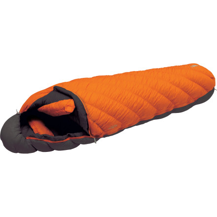 photo: MontBell U.L. Super Spiral Down Hugger Exp cold weather down sleeping bag