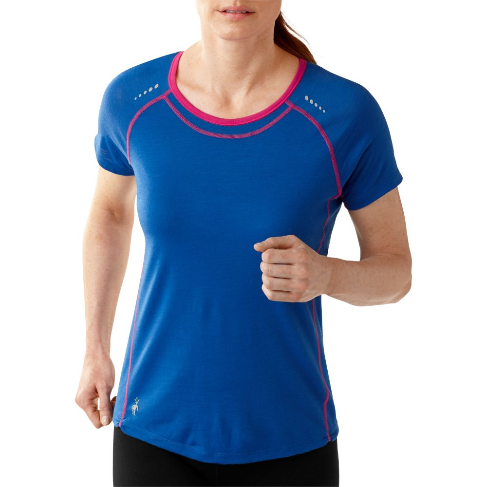 photo: Smartwool Women's PhD Run Short Sleeve Top short sleeve performance top