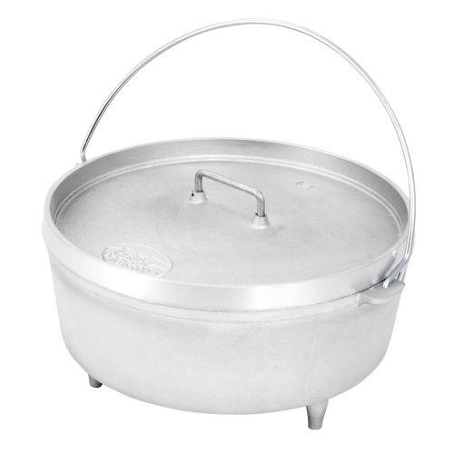 """photo: GSI Outdoors 12"""" Aluminum Dutch Oven pot/pan"""