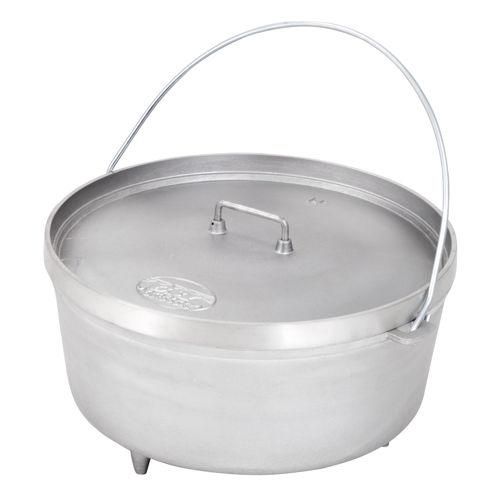"""photo: GSI Outdoors 14"""" Aluminum Dutch Oven pot/pan"""